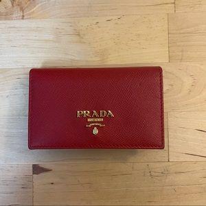Authentic Prada cardholder